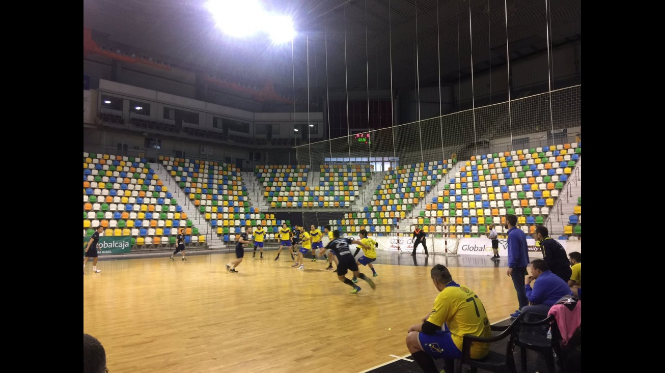 Imagen del partido ante Caserío en el Quijote Arena