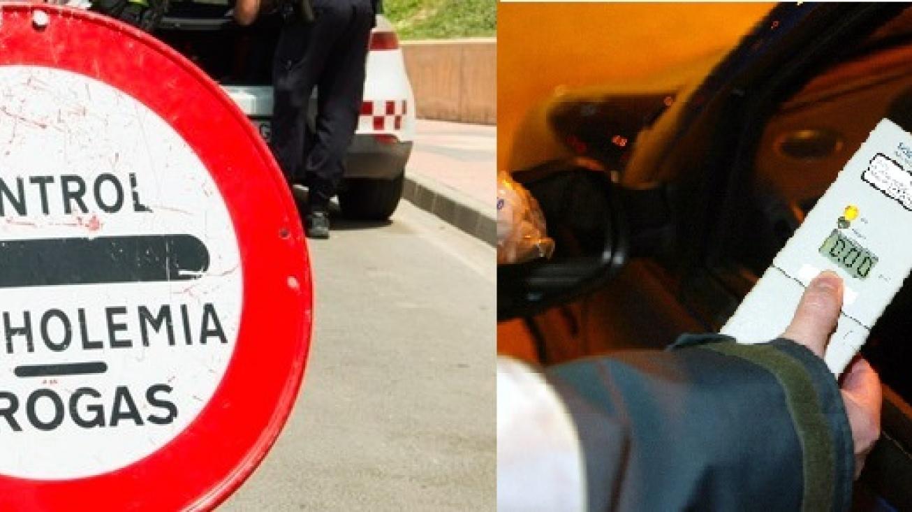 Campaña de control de alcoholemia y drogas en la conducción