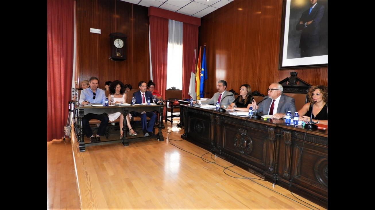 Sesión de pleno ordinario correspondiente al mes de junio 2017