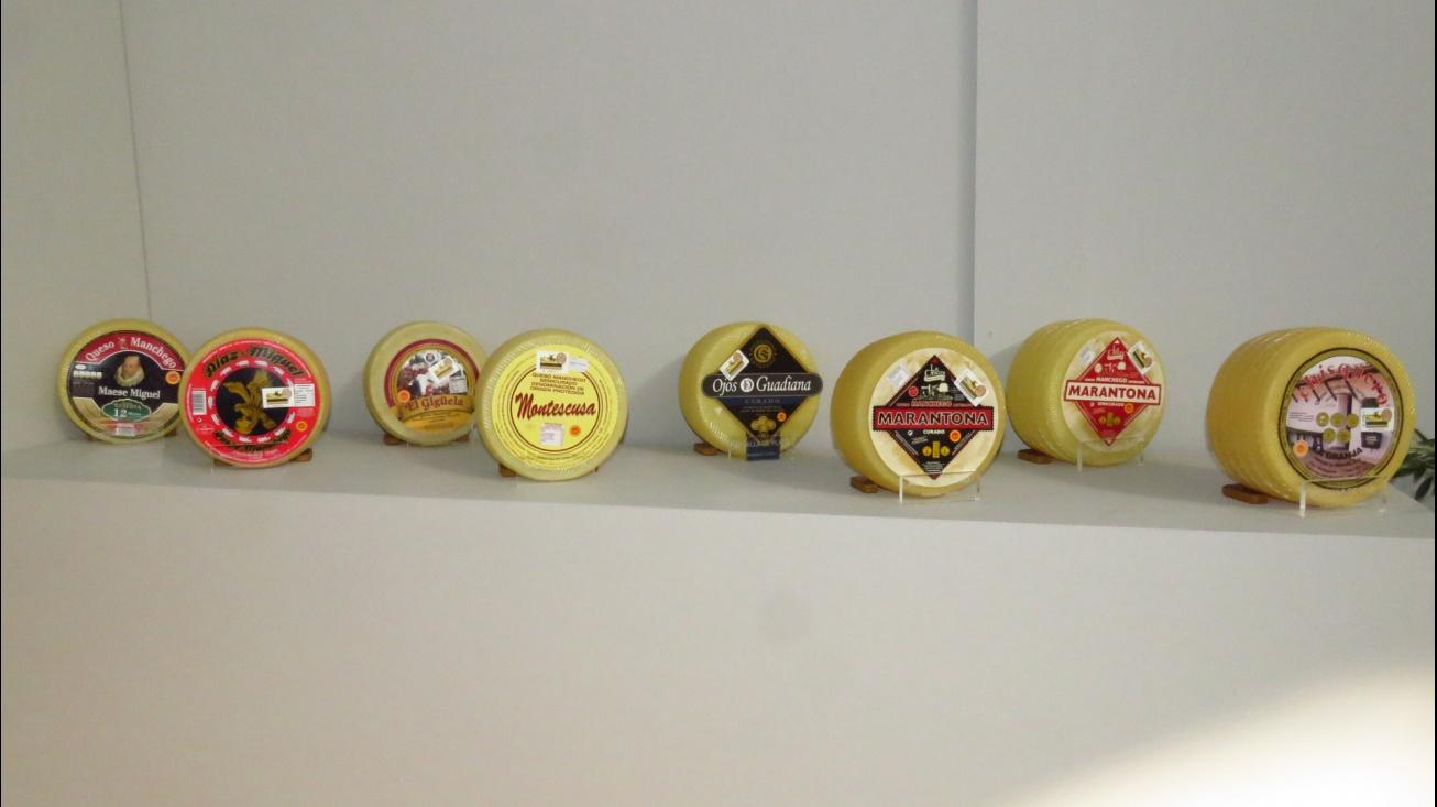 Marcas de quesos premiados en Fercam 2017