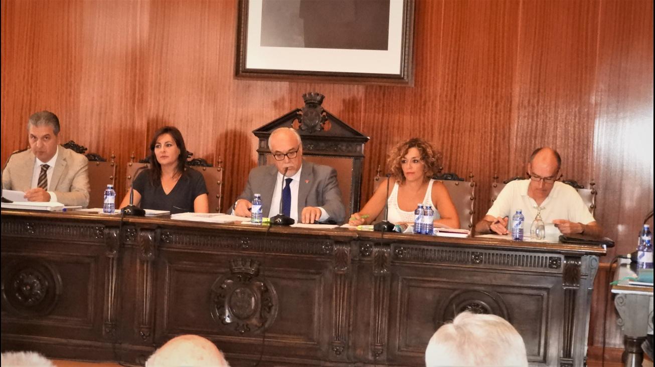 Pleno del Ayuntamiento de Manzanares correspondiente al mes julio 2017