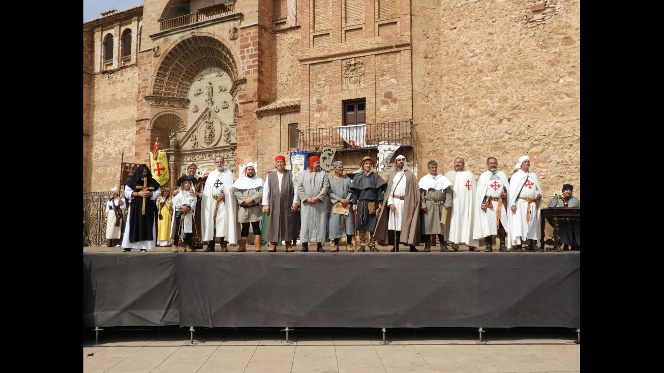 Ceremonia de elección y nombramiento de alcaldes medievales