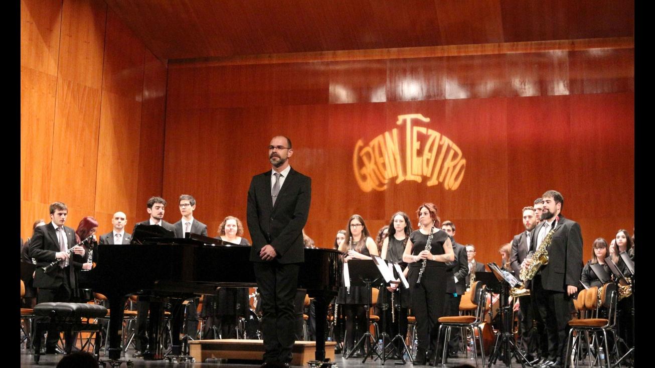 Imagen de un concierto de la banda