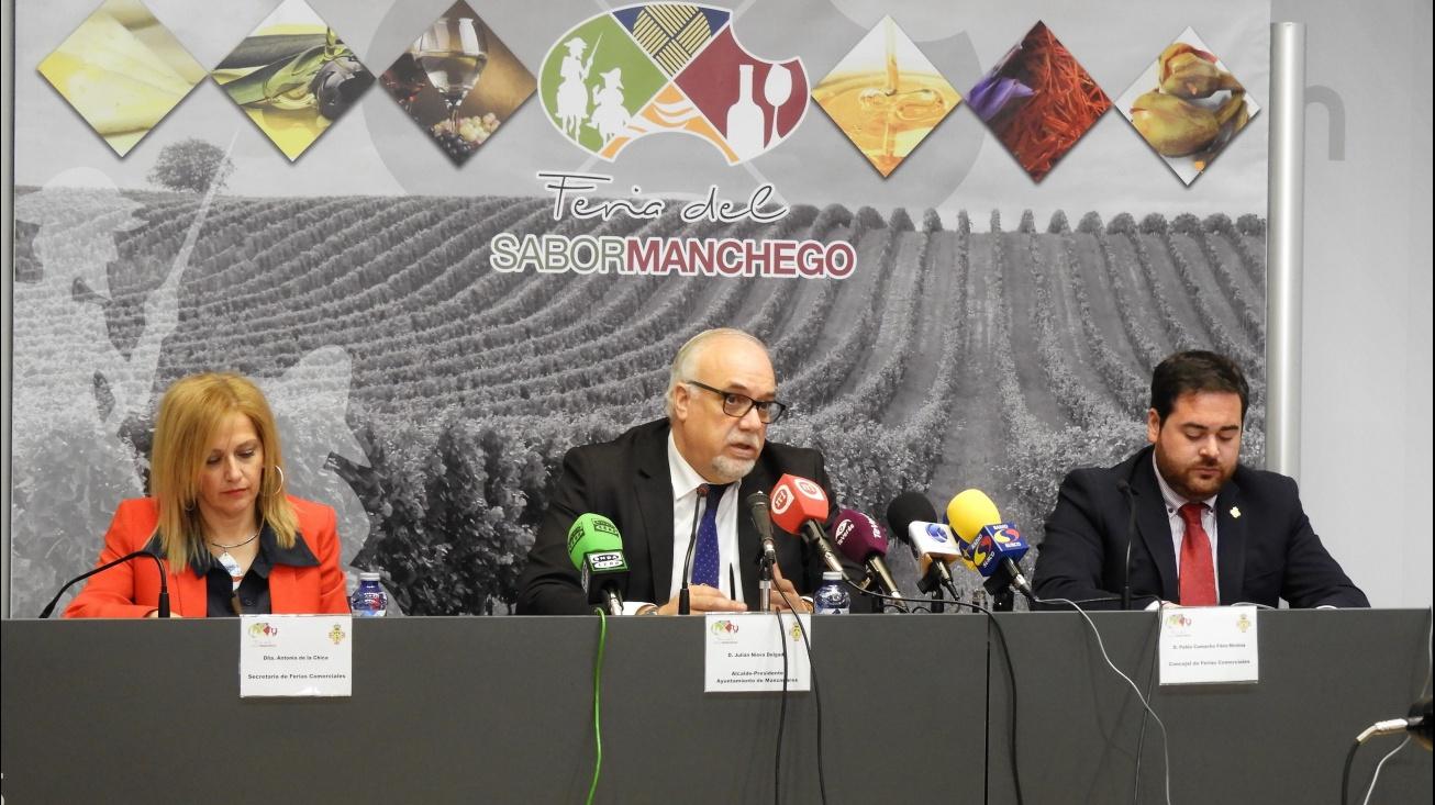 Julián Nieva durante su intervención en la presentación de Fersama 18