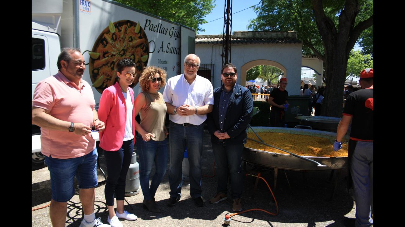 Representantes del Equipo de Gobierno disfrutan de la Romería 2018