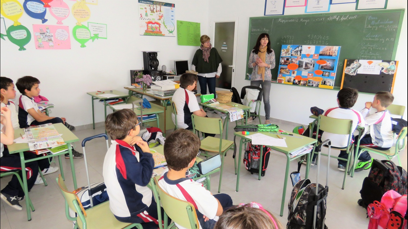Actividad celebrada en el colegio Don Cristóbal