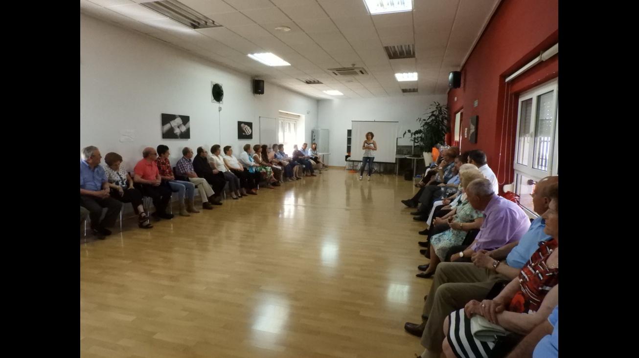 Clausura de talleres de mayores