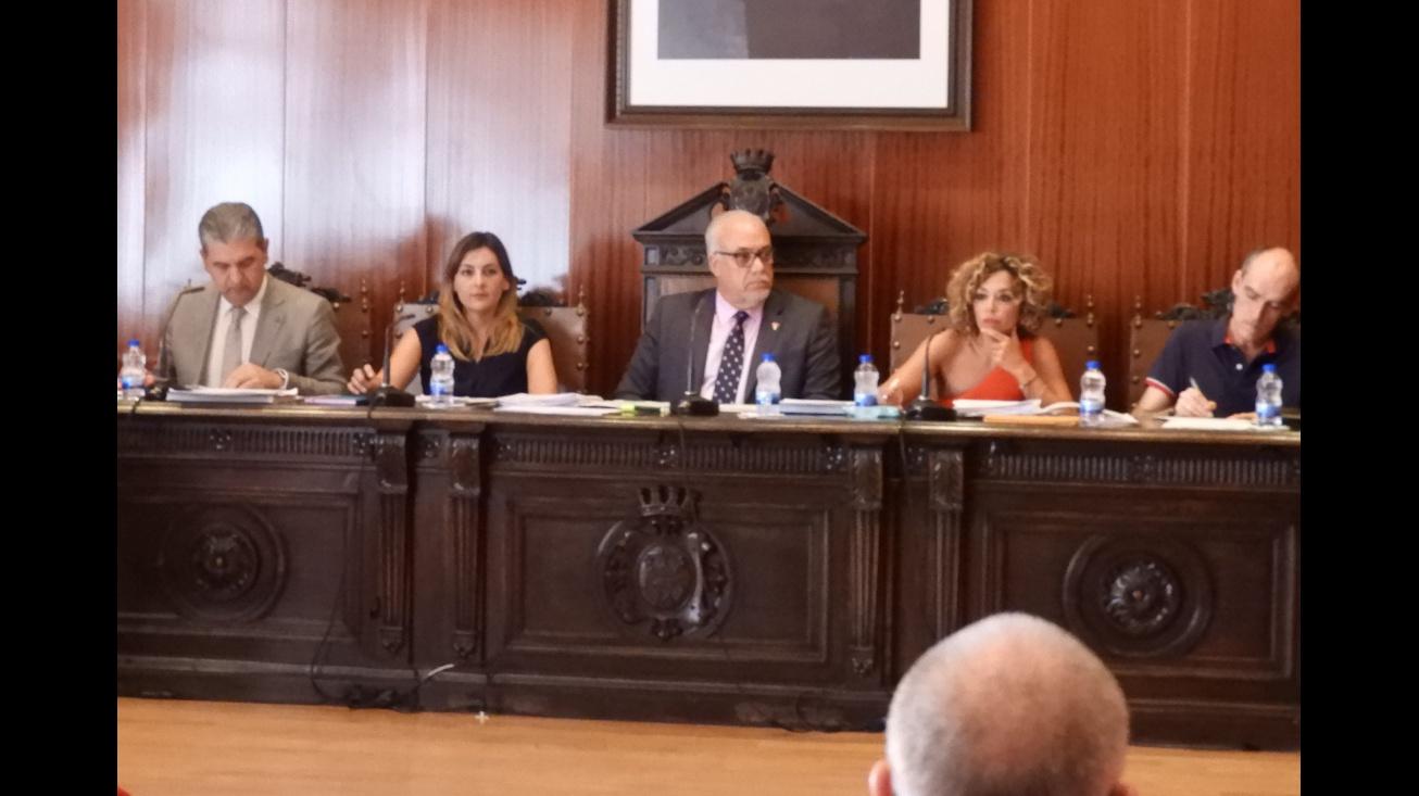 Imagen del pleno del mes de julio de 2018