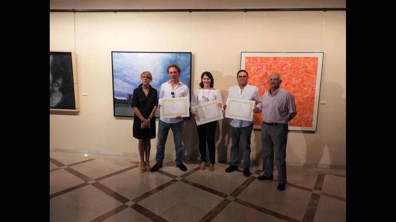 Inauguración de la 42 exposición del Certamen Nacional de Pintura