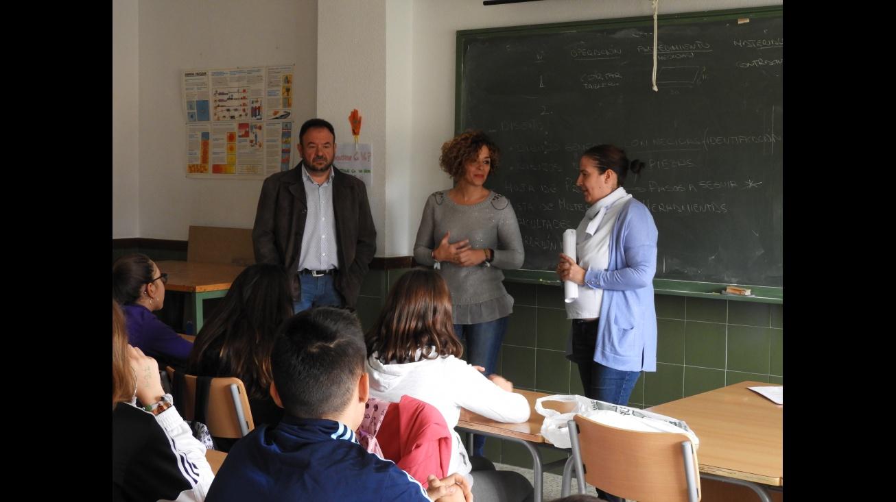 Charlas sobre salud mental en los institutos de Manzanares