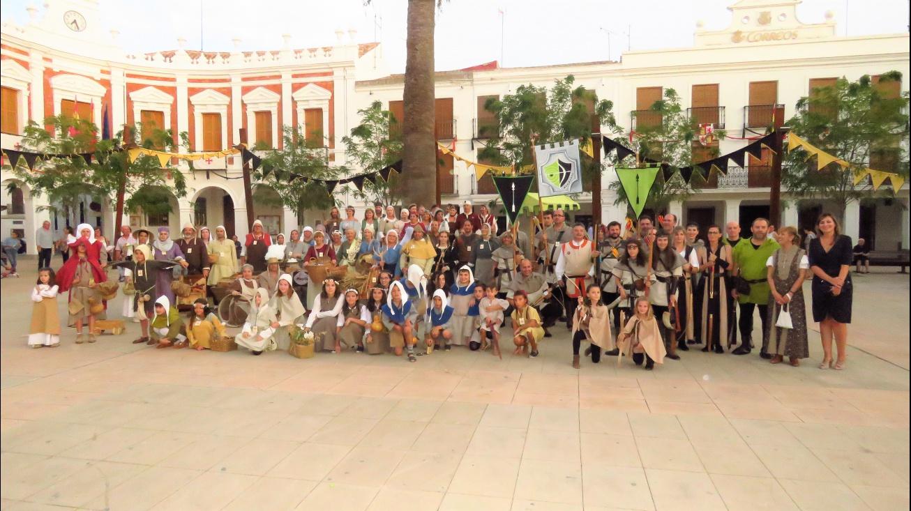 Foto conjunta de todos los participantes en el concurso