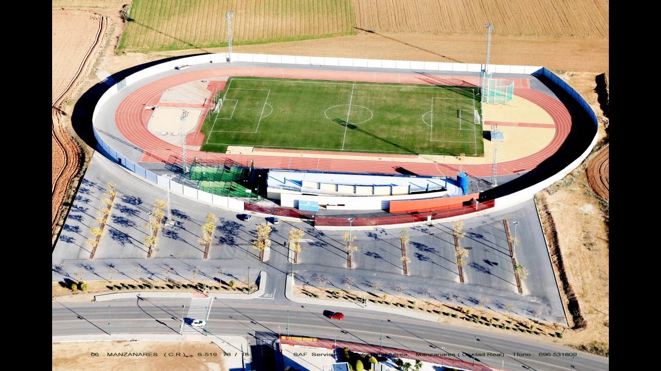 La parcela a solicitar es la situada a la izquierda de la pista de atletismo