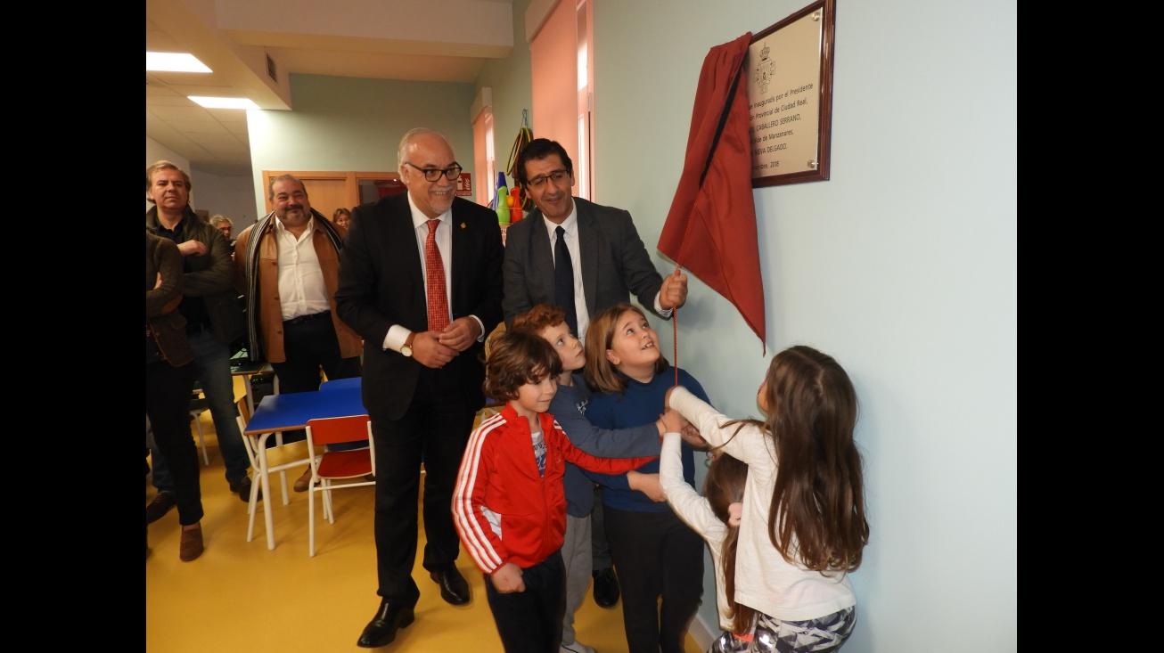 Inauguración de la ludoteca municipal en el barrio de la Divina Pastora