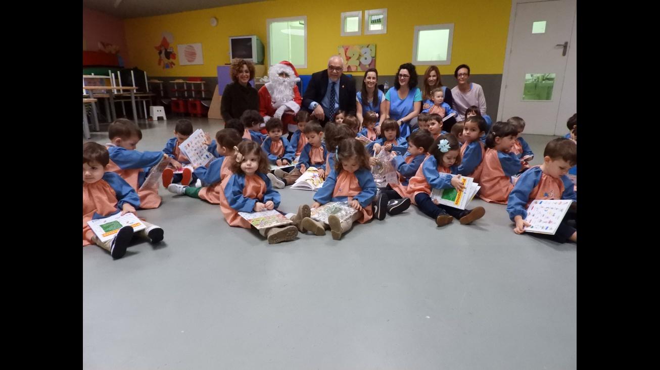 Papá Noel llega al CAI de Manzanares