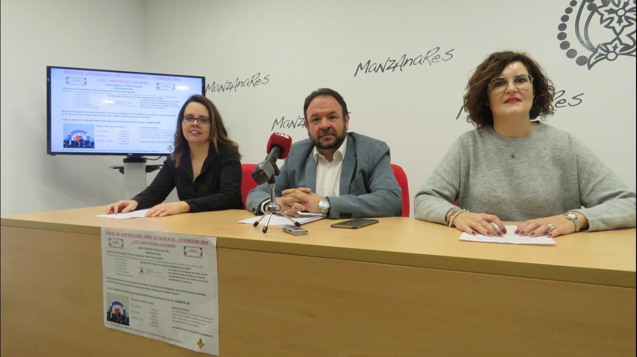 Presentación de la fiesta 50º aniversario del AMPA 'Altagracia'