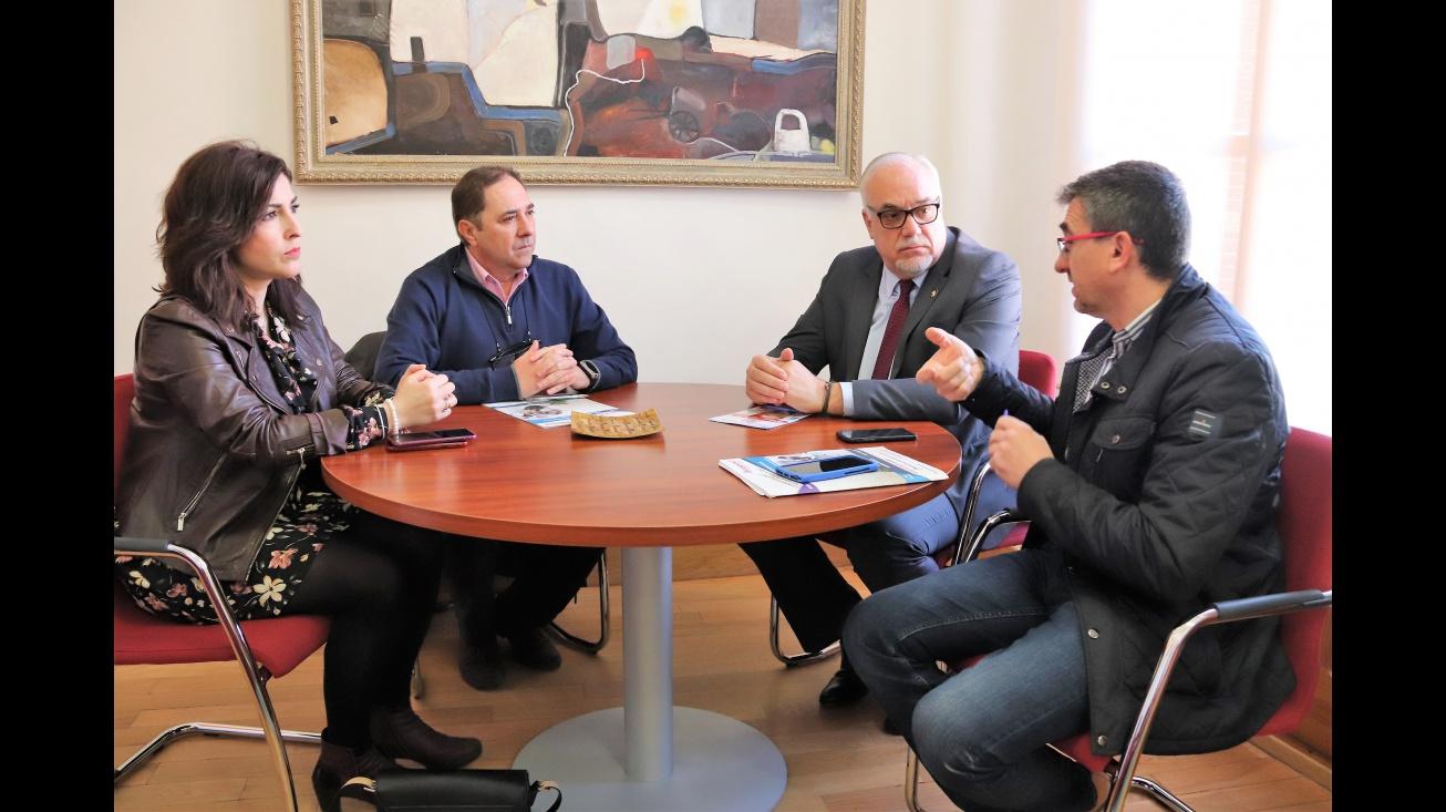 Reunión con los responsables de la empresa ciudadreal.net