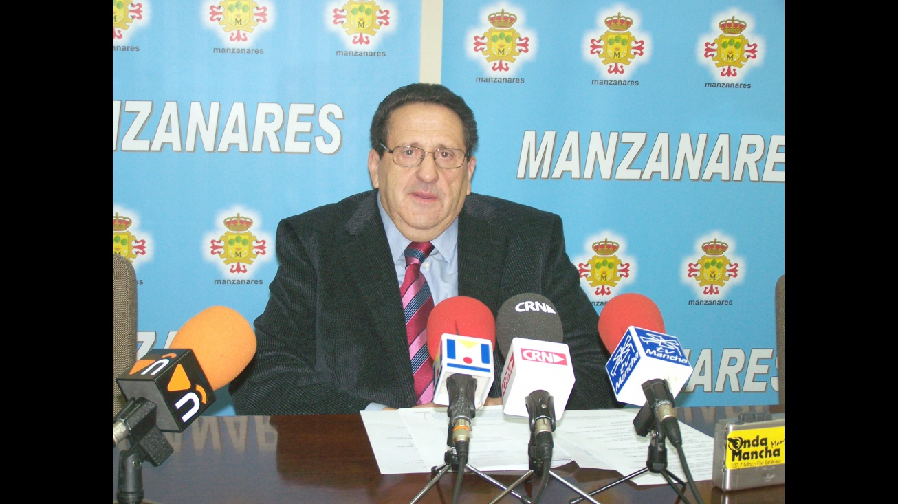 Imagen de archivo de Antonio Caba durante su etapa como Primer Teniente de Alcalde