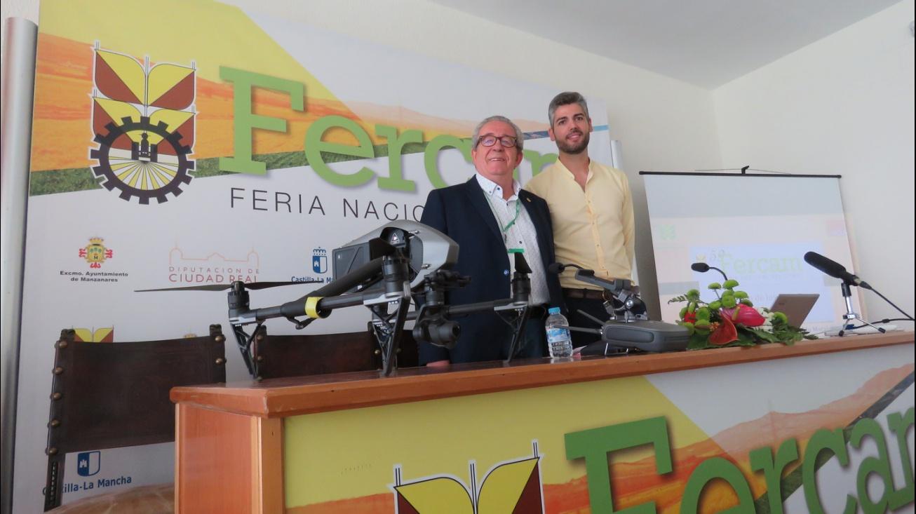 Conferencia 'El uso de drones en el sector agrario'