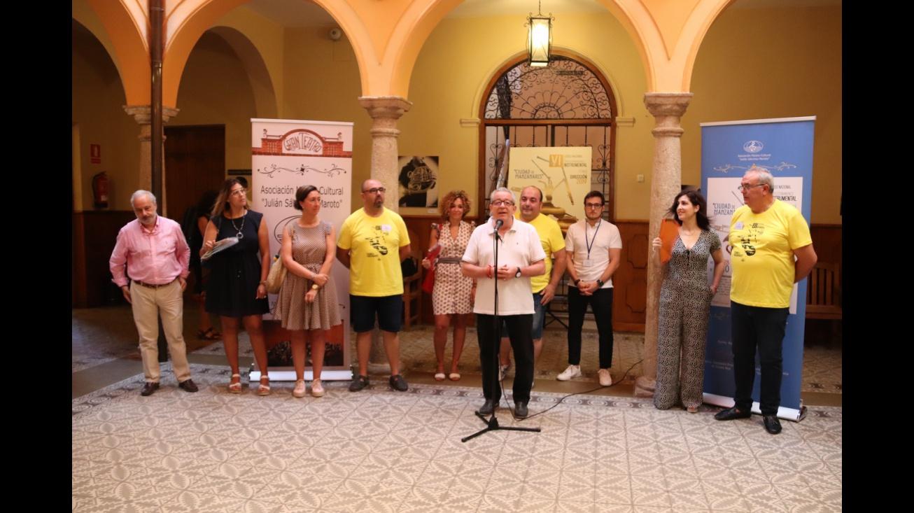 Presentación VI Curso de perfeccionamiento instrumental y técnica de dirección 'Ciudad de Manzanares'