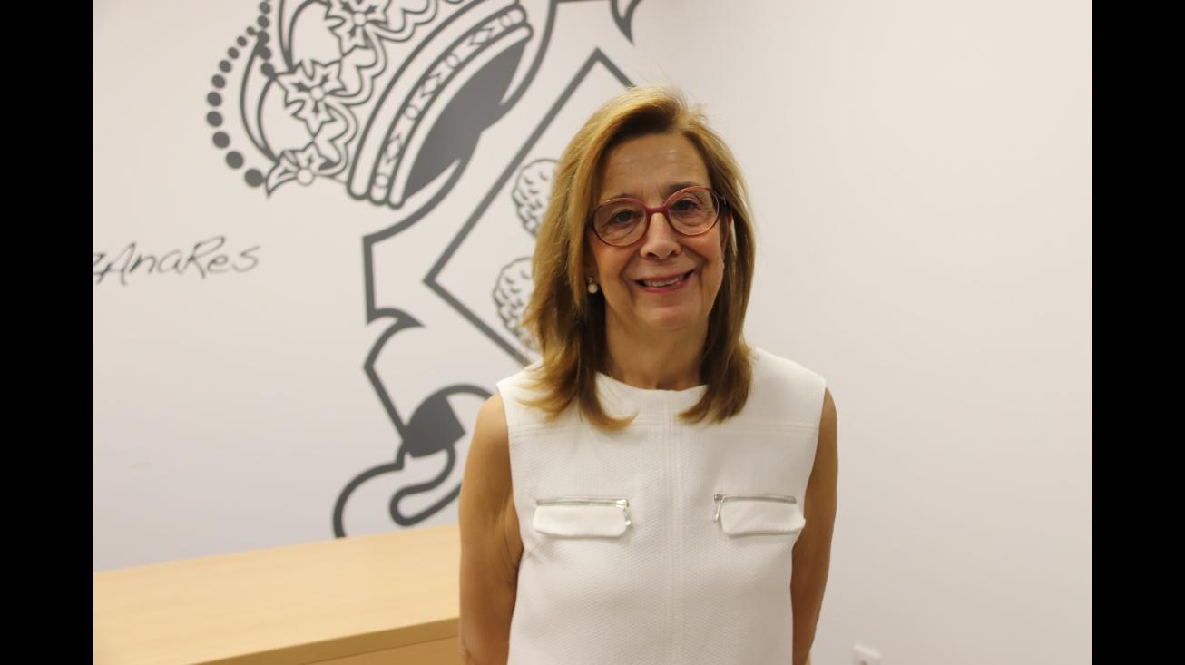 Isabel Quintanilla concejala de la Universidad Popular