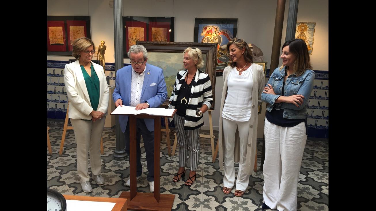 Donación de las obras de Antonio Iniesta