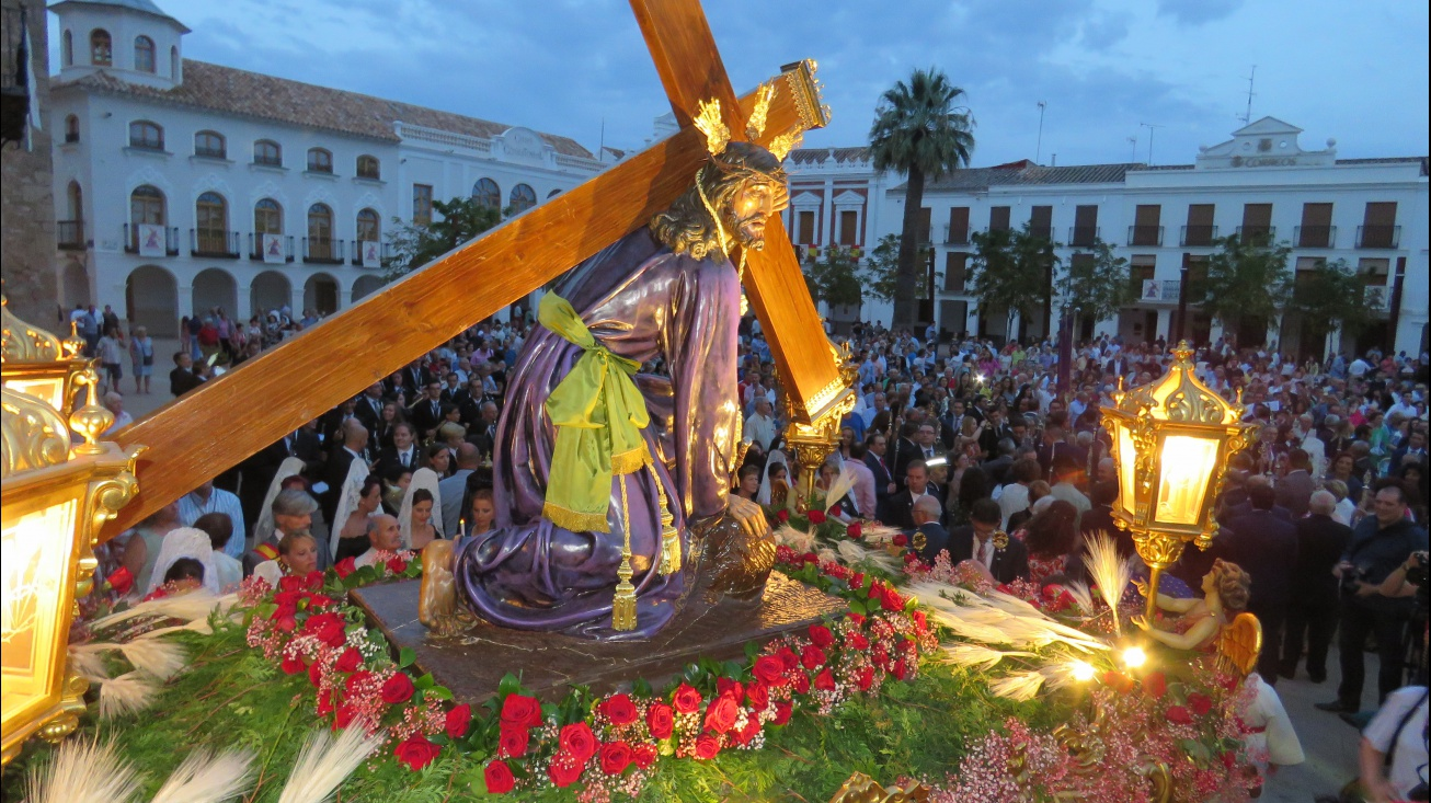 La procesión de Jesús del Perdón centra los actos del 14 de septiembre