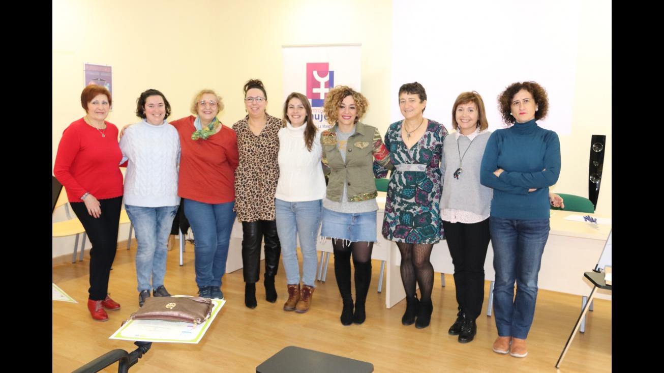 Participantes en el curso de formación del Consejo Local de la Mujer