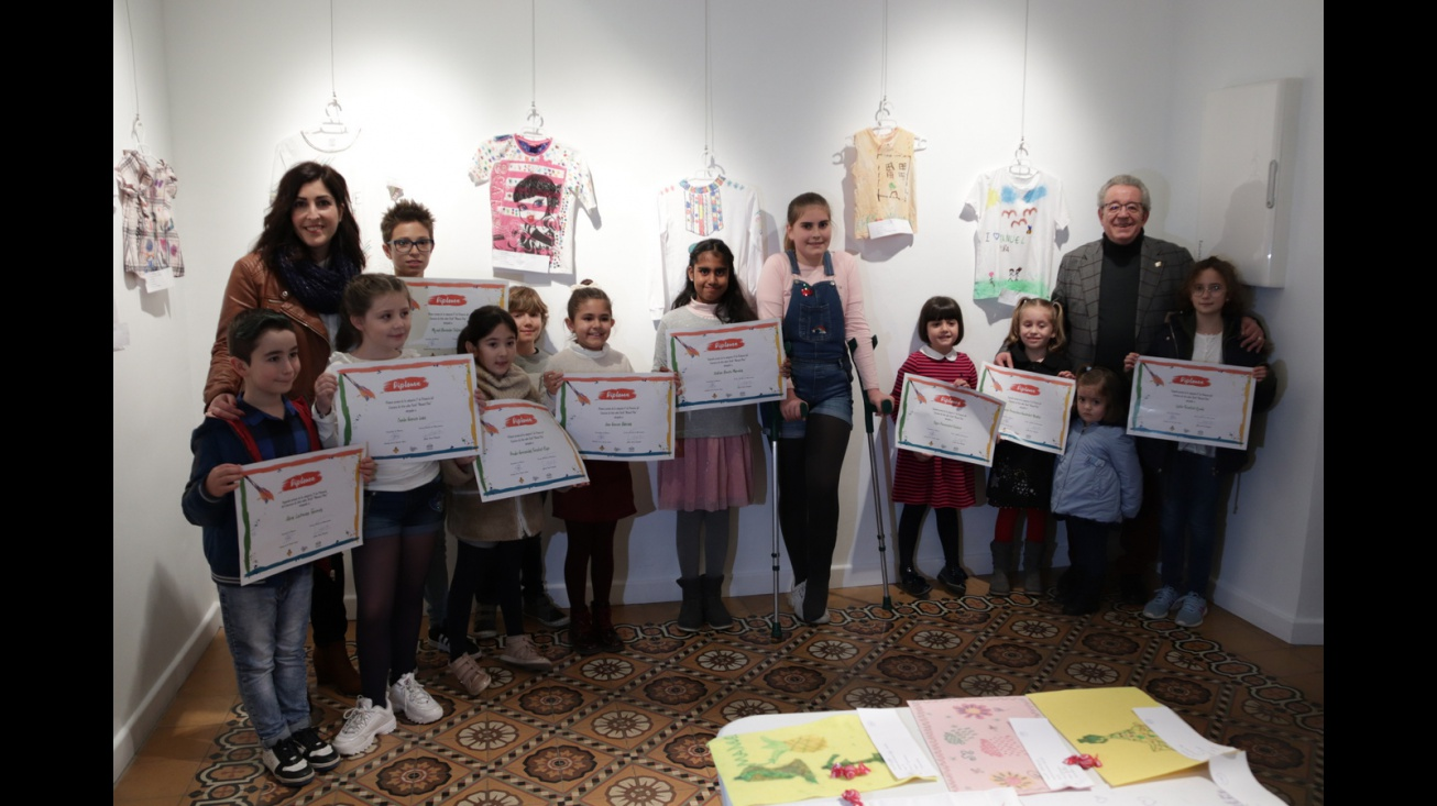 Concurso de arte infantil sobre textil 'Manuel Piña