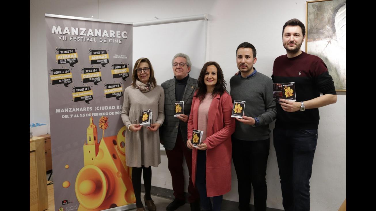 Presentación del VII Festival de Cine 'ManzanaREC'
