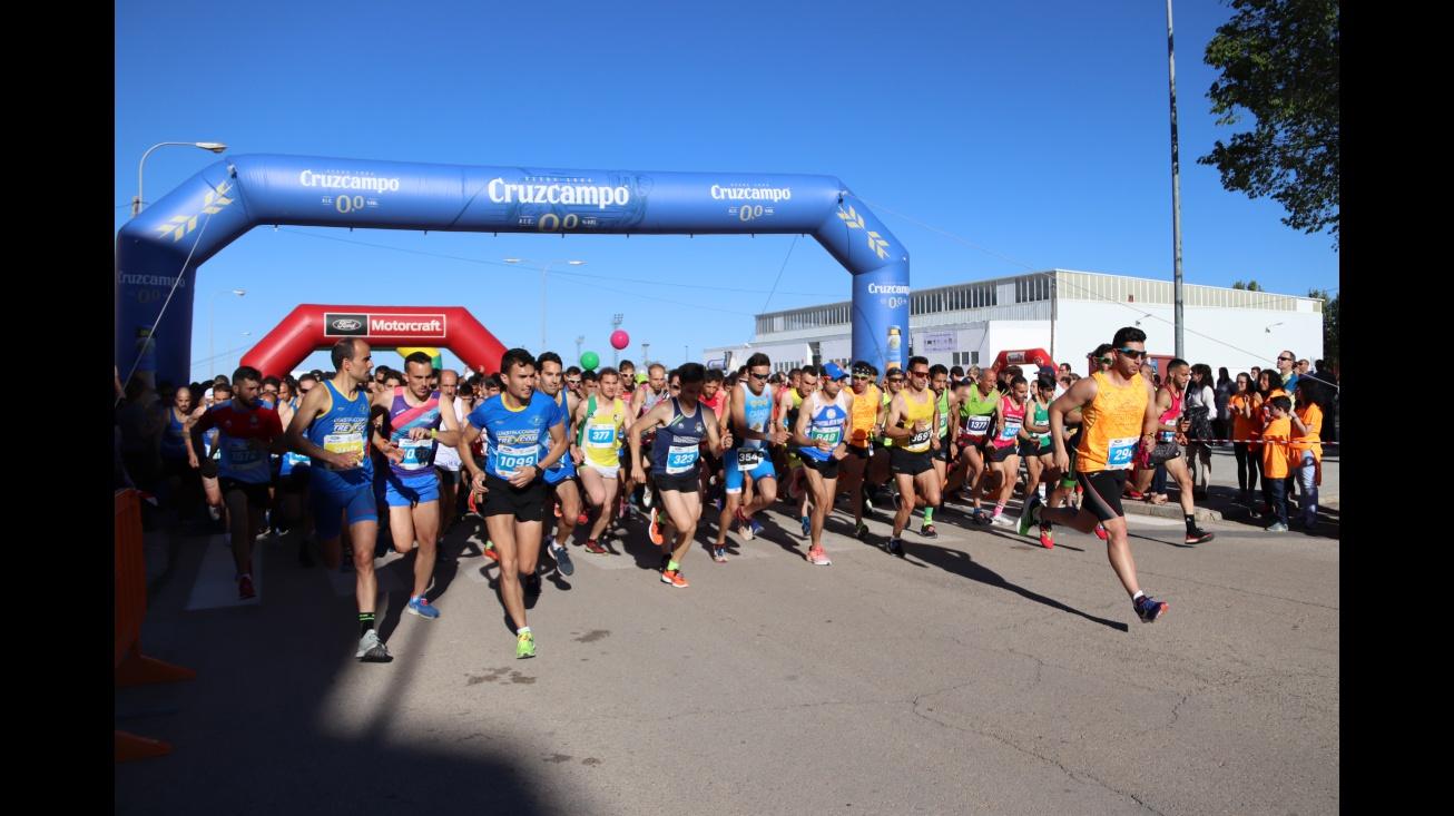 Salida de la Carrera Popular de Manzanares en 2019